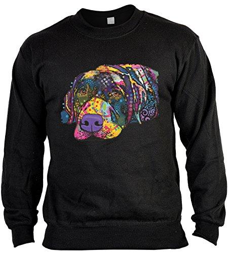 Unbekannt Hund Savvy Labrador Sweater Pulli Pullover Hunde Dog Geschenk für Hundehalter Geschenk für Hundebesitzer