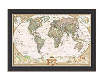 Best world map wall art Reviews