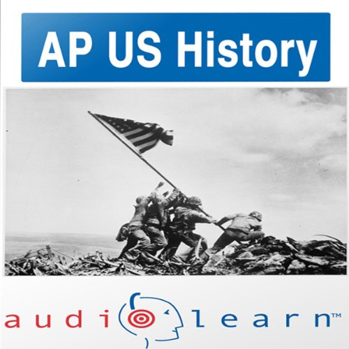 AP US History Test AudioLearn Study Guide  audiobook cover art