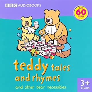 Teddy Tales and Rhymes audiobook cover art