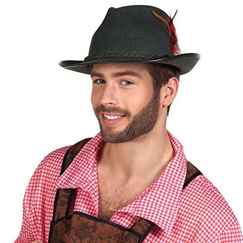 Boland 54236 - Hut Walter, bayerischer Trachten-Hut, Oktoberfest, Bayer, Kostüm, Karneval, Mottoparty