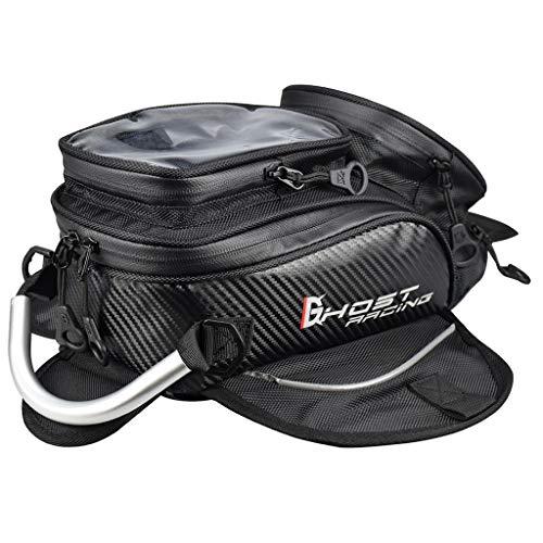B Baosity Bolsos de Magnético para Hombre Oxford Alforja para Motos Bolso de Depósito para Motocicletas