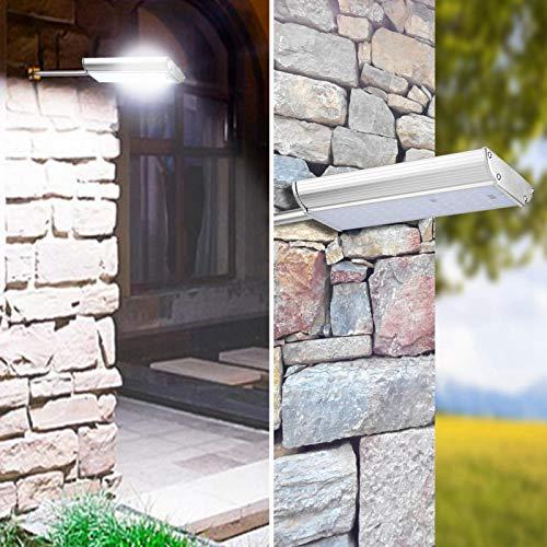 Luz solar impermeable duradera que ahorra energía para patio al aire libre
