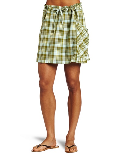 Big Sale Horny Toad Women's Dizzie Skirt, Bright Olive, Large