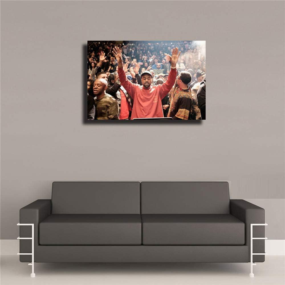 Kanye West The Life Of Pablo Rap HipHop Super Star Print 24x36 Silk Poster KX806