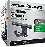 Rameder Attelage rotule démontable pour CITROËN C4 Picasso II + Faisceau 7 Broches...
