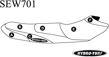 HYDRO-TURF(ハイドロターフ) ヤマハ/シートカバー YAM EX/EXS/EXD(17)/BK/SL