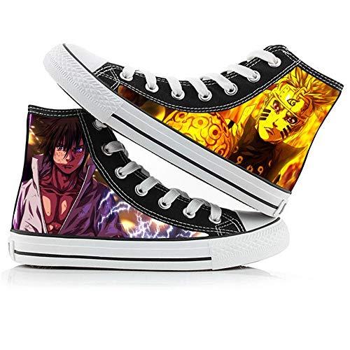 NLJ-lug Naruto Chaussures en Toile Décontractées pour...