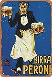 None Branded Birra Peroni Targa in Metallo Retro in Metallo Verniciato Art Poster Decorazione Avvertimento Targa Bar Garage Giardino Cortile Regalo
