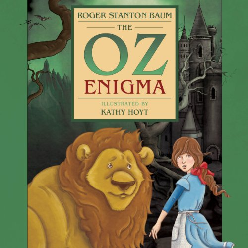 The Oz Enigma audiobook cover art