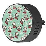 Clip di sfiato per diffusore di aromaterapia per auto Cuccioli divertenti cartoon carghe Profumo di incenso deodorante per ambienti 2Pack