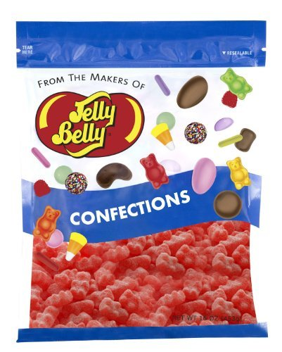 Jelly Belly Unbearably Hot Cinnamon Bears  1 Pound 16 Ounces Resealable Bag  Genuine Official Straight from the Source