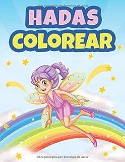 Colorear Hadas: Libro de Colorear para Niños de 4 a 8 Años