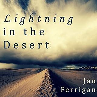 Lightning in the Desert audiobook cover art