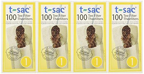T-Sac Tea Filter Size 1 - 400 Filters