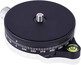 Camera Panoramic Panning Base with Arca Swiss Style Plate, 3/8