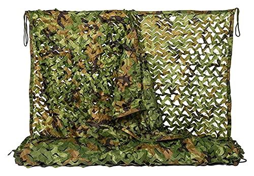 2X3m Netificación de camuflaje de bosques, neta de sombrilla, tienda de niños, adecuado para la caza de acampar, redes de camuflauge para cubrir, decoración de jardín ( Size : 3x5m(9.8*16.4ft) )