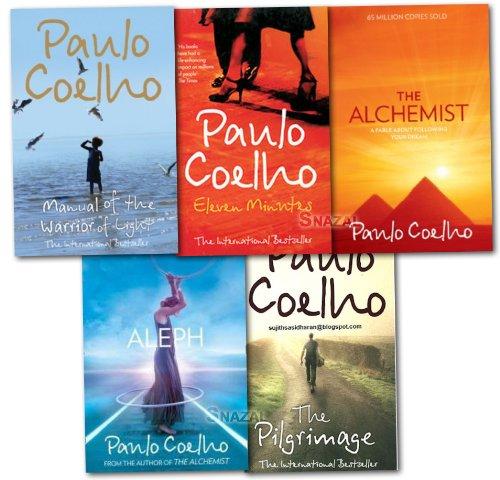 Paulo Coelho Collection 5 Books Set NEW (The Alchemist, Aleph, The Pilgrimage)