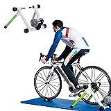 Entrenador de Bicicleta de Interior Inteligente 3D, Resistencia HidráUlica, Utilizada para Bicicletas de MontañA con Un DiáMetro de Rueda de 26-27.5-29 Pulgadas, Bicicletas de Carretera 700C