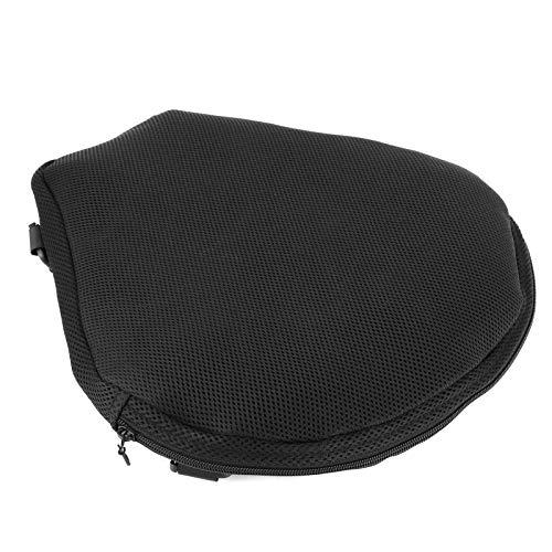 Bediffer Cojín inflable antideslizante del asiento de seguridad del asiento del asiento del cojín para la bici de calle para el coche de la calle para el coche deportivo para la vespa