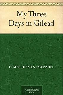 My Three Days in Gilead (English Edition)