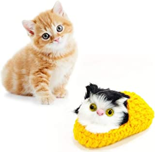 RvPaws Cat in Socks Fur Interactive Toys for Cat/Kitten Color May Vary.