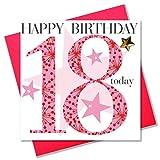 Claire Giles-Biglietto di auguri per compleanno, da ragazza, 18 anni