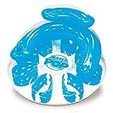 Poolmaster Water Pop Circular Swimming Pool Float Lounge, Blue