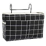 Nrkin Betttasche Bett Organizer, 100 Baumwolle Stofftasche Baldachin Dach Bettdach Himmel für Hochbett Spielbett Etagenbett Kinderbett