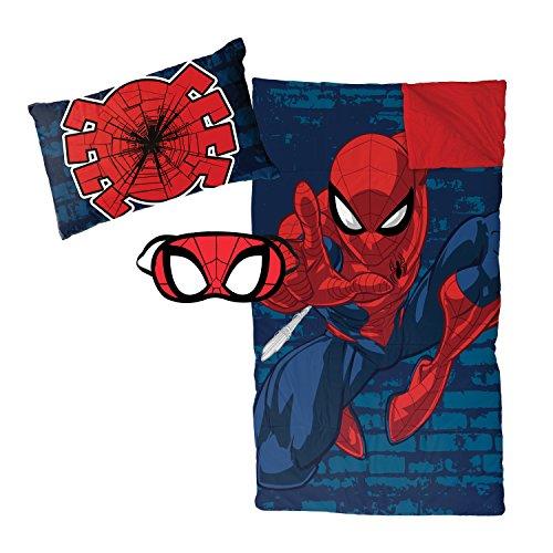 Jay Franco Marvel 3 Piece Slumber Set, Avengers - Spiderman Zaap