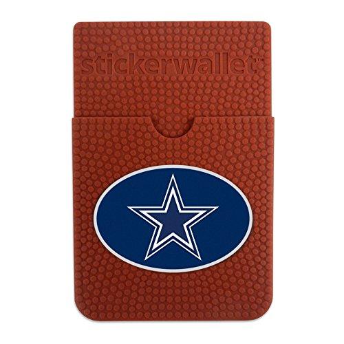 NFL Dallas Cowboys Sticker Wallet, Brown, N/A