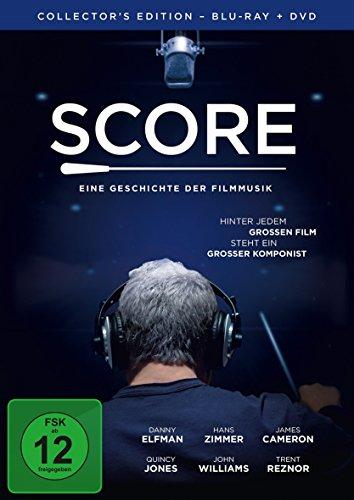 Score - Eine Geschichte der Filmmusik - Collector's Edition (+ DVD) [Blu-ray]