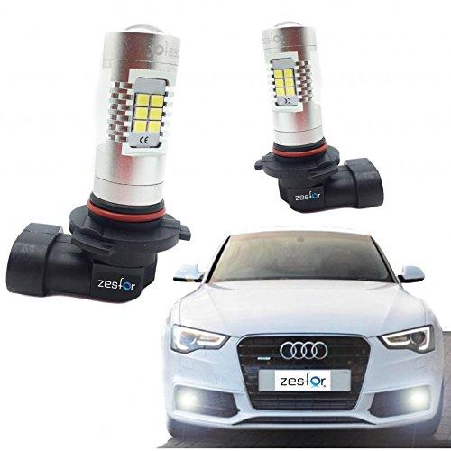 Zesfor® Kit de Bombillas Antinieblas LED HB4 o 9006 60 Watios Canbus