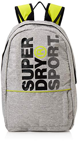 Superdry Herren Sport Backpack Rucksack Grau (Light Grey Marl)