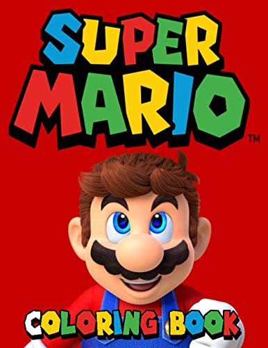 Super Mario Coloring Book: Great Coloring Book for Kids Ages 2-10 PDF Books