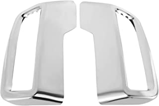 POLKMN Fit for Peugeot 3008 5008 Allure 2017-2019 Exhaust Pipe Tail Cover ABS Rear Exhaust Muffler End Pipe Cover Decorati...