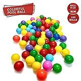 NHR Premium Plastic , Genuine Quality Big Size Colourful Kids Pool Balls