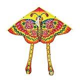 GFCGFGDRG Patrón 90x90cm Deportes al Aire Libre, Animal, Volar Cometa niños de los niños del Juguete del Juego de Colores de Dibujos Animados Vuelo de la Cometa aleatoria