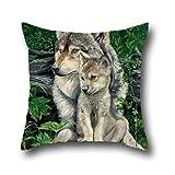 Chipper prohibición lobo Home manta decorativa Funda de almohada fundas de cojín para sofá...