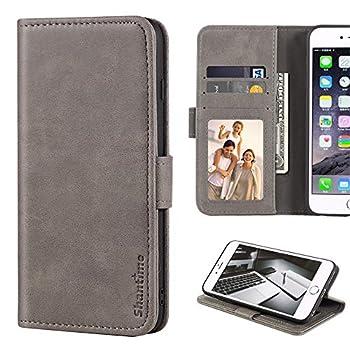 Motorola Moto G3 Case Leather Wallet Case with Cash & Card Slots Soft TPU Back Cover Magnet Flip Case for Motorola Moto G3  Grey