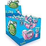 Lutti Tubble Gum Tutti Frutti - Gomas para masticar (36 unidades)