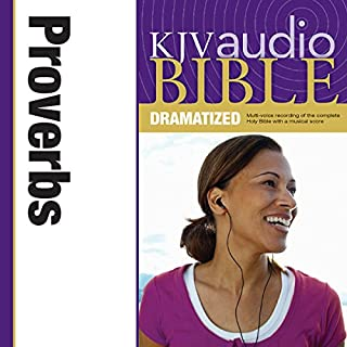 Dramatized Audio Bible - King James Version, KJV: (19) Proverbs audiobook cover art