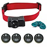 PetSafe Wireless Fence Collar - Waterproof Receiver - 5 Adjustable Levels of Correction. - PIF-275-19 - Bonus 4 Batteries