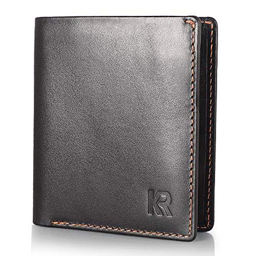 Exentri Leder Minibörse Kartenetui dünn Portemonnaie Wallet Kartenbörse