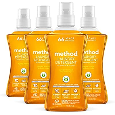 Method Concentrated Laundry Detergent, Ginger Mango