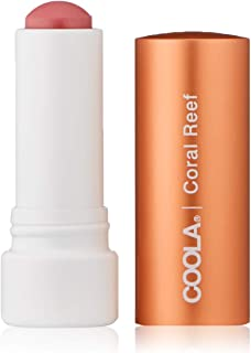 COOLA Organic Liplux Tinted Mineral Lip Balm Sunscreen