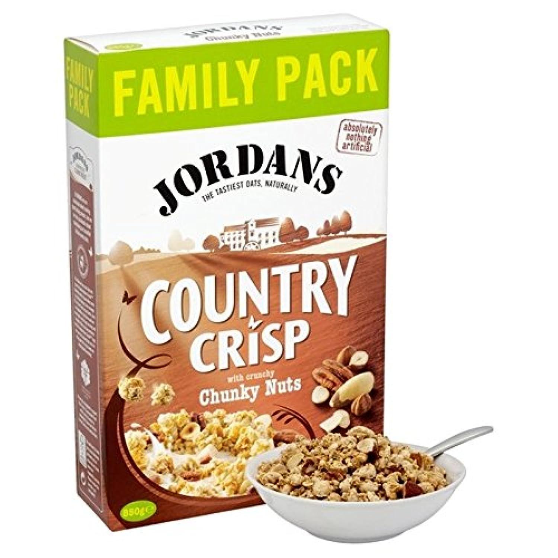 ヨルダンの国鮮明な4ナット850グラム (x 6) - Jordans Country Crisp 4 Nut 850g (Pack of 6) [並行輸入品]