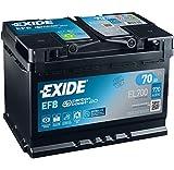 Exide, batteria Start & Stop, 70Ah, 720(EN) EL700