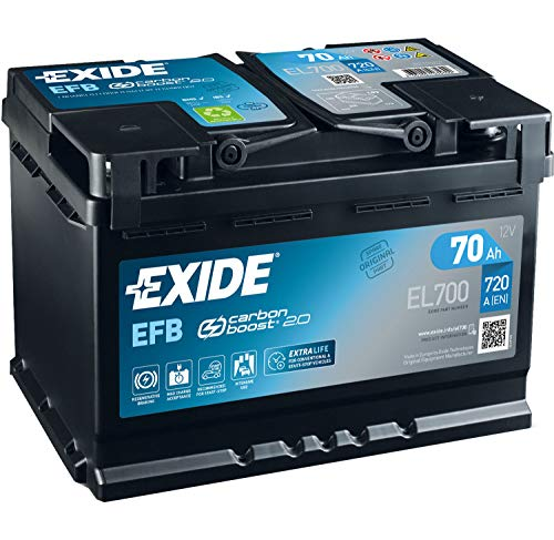 Start & Stop Exide recargable 70 Ah 720 (en) EL700