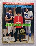William Refrigerator Perry (Chicago Bears) & Ed Two Tall Jones (Dallas Cowboys) - Sports Illustrated - August 11, 1986 - NFL Football in London, England - SI